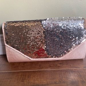 Ardene two way sequin bag brand new